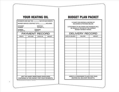 Picture of #2612 Budget Packet