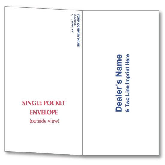 Picture of Pocket Envelopes for Budget Payment Remittance Envelopes