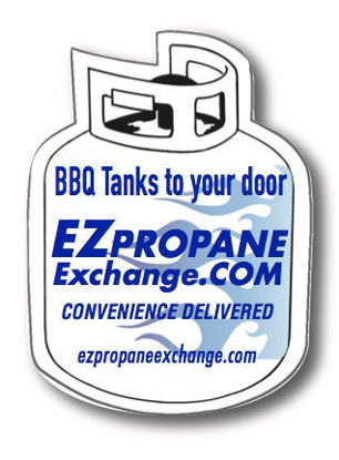 Picture of Propane Cylinder Magnet
