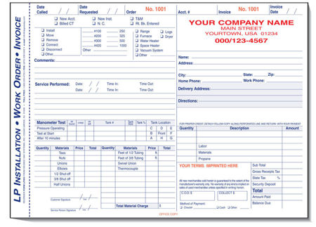 Picture for category Propane Forms