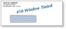 Picture of #10 WINDOW TINTED - IMPRINTED